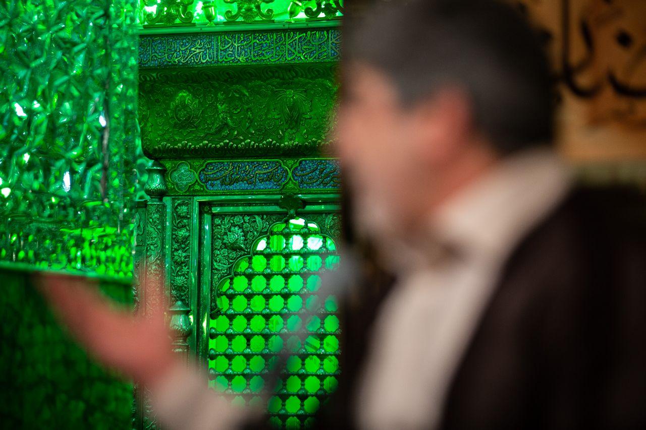 قرائت مناجات مسجد کوفه