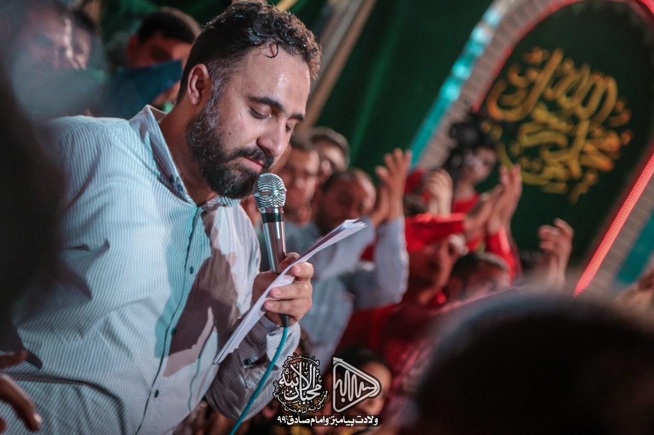 زنگ در بهشته علی علی - سرود