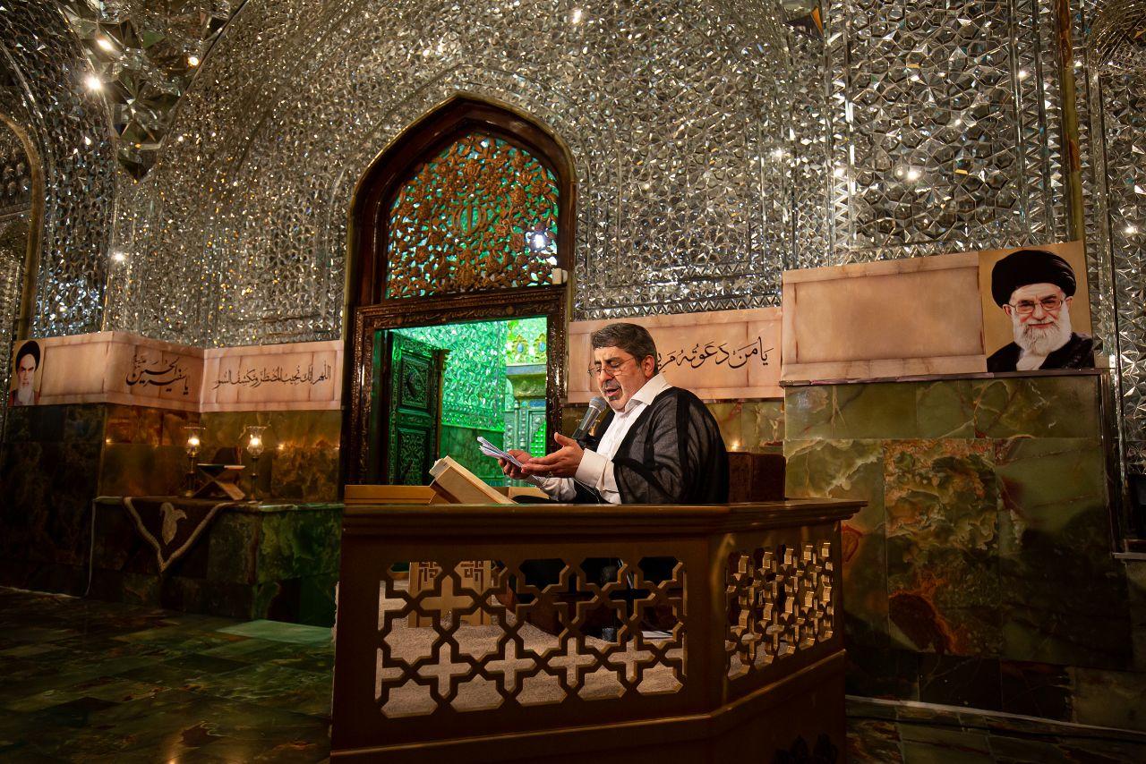 قرائت دعای پرفیض عرفه